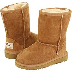 brown kids uggs