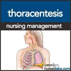 Thoracentesis   Nursing   Nursing care plan, Critical care