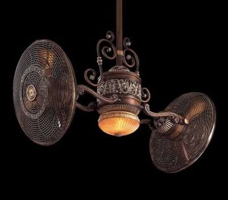 This is the Traditional Indoor fan from the Traditional Gyro ceiling fan collection by Minka Aire. The Minka Aire Gryo ceiling fan is a truly unique design offering an unsurpassed level of comfort. Traditional Gyro's ability to precisely control the direction and intensity of the cooling breeze efficiently circulates air in any size or shape room.