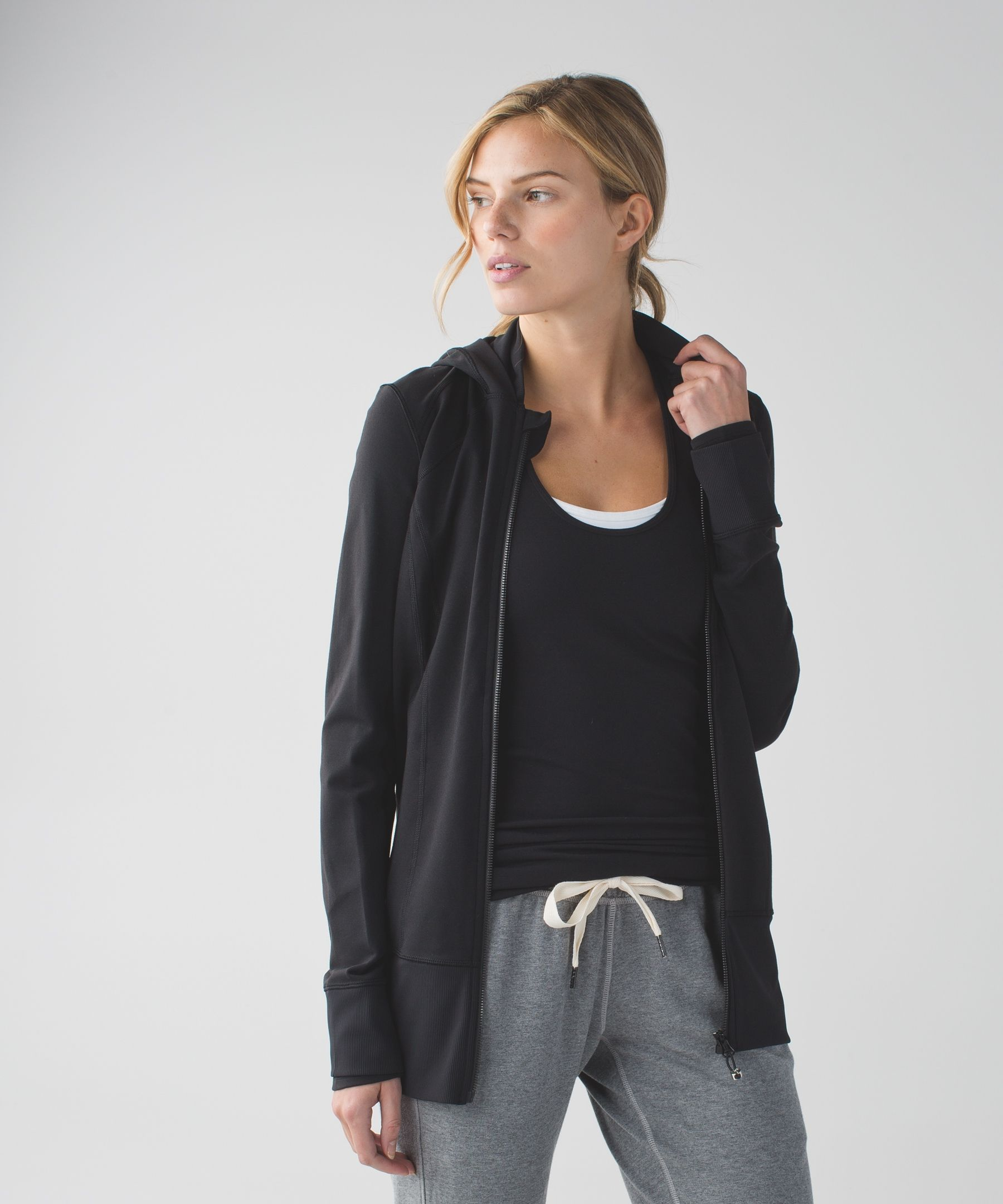 cc165b1202f08 Women s Yoga Jacket - (Black