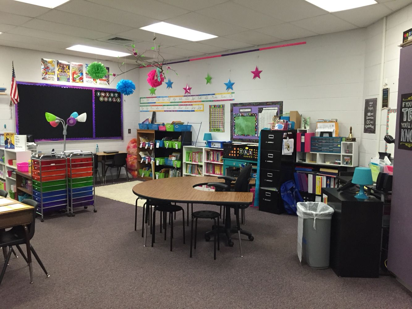 No Teacher Desk My Classroom Ideas Pinterest