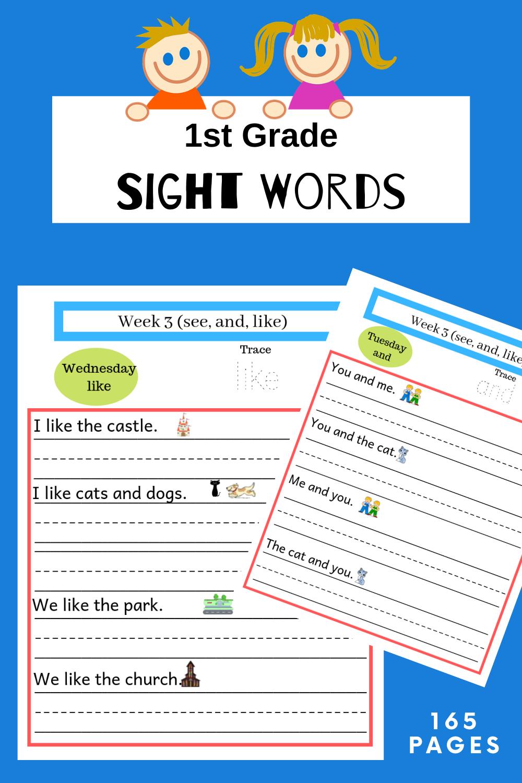 Sight Words Worksheet Sight Word Worksheets Sight Words Sight Words Kindergarten [ 1500 x 1000 Pixel ]