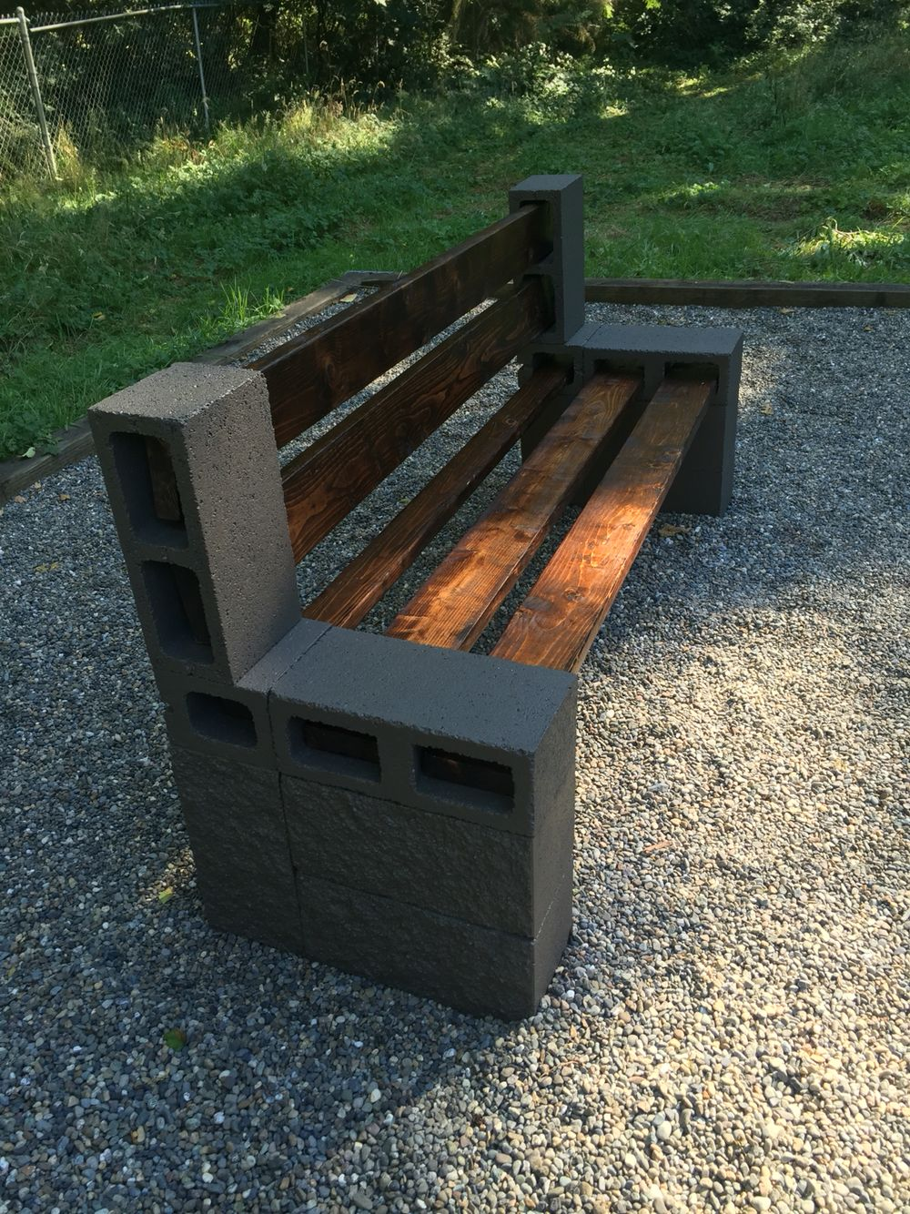 Diy bench Garden furniture design, Diy patio, Diy