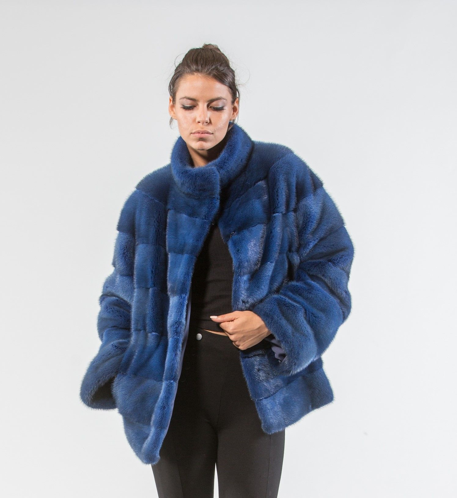 196aadc1c345 Electric Blue Mink Fur Jacket  electricblue  mink  fur  jacket  real  style   realfur  elegant  haute  luxury chic  outfit  women  classy  online  store