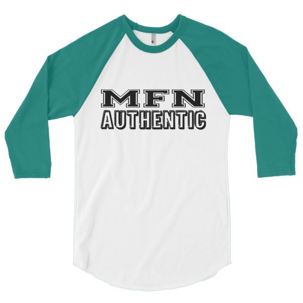 MFN AUTHENTIC 3/4 sleeve raglan shirt