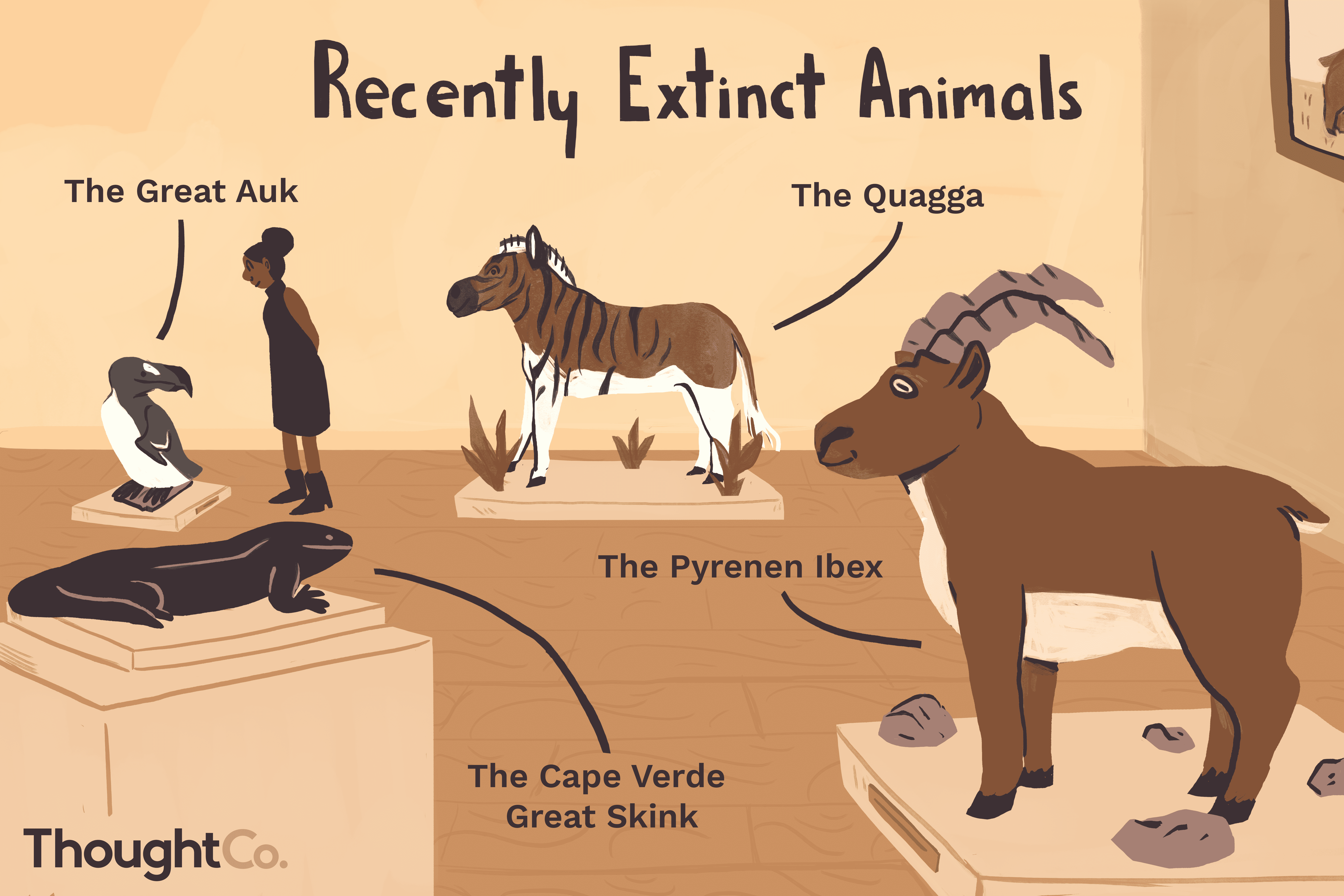 100 Animals That Have Gone Extinct in Recent History