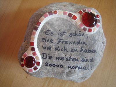 Design auf Stein - Galerie #steinbilderselbermachen