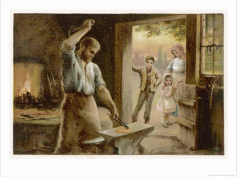 The Village Blacksmith\
