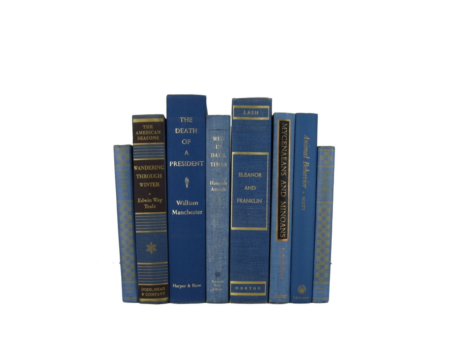 Blue Beautiful Vintage Books, S/8  #bookshelfdecor #DecadesofVintage #booksbycolor #bookhomedecor #decorativebooks #vintagehomedecor #oldbooks #stagingprop #vintagebooks #homedecor