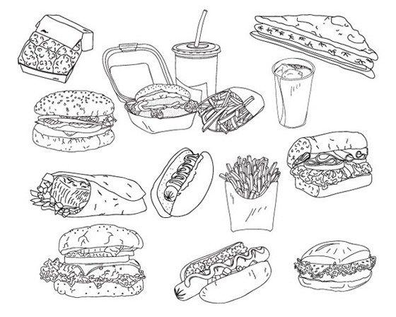 Fast Food Doodles Com Imagens My Chemical