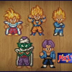 Thème Dragon Ball En Perle Hama Mini If I Had Two Hands At Once To