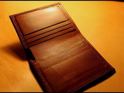 Making a Leather Bifold Wallet - YouTube