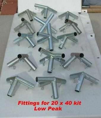 Tent and Canopy Accessories 36120 20X40 + Canopy Car Tent Fittings ( Connectors) Only & Tent and Canopy Accessories 36120: 20X40 + Canopy Car Tent ...