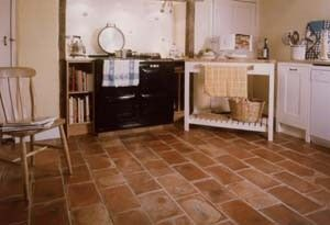 Old English Terra Cotta Floor Tiles