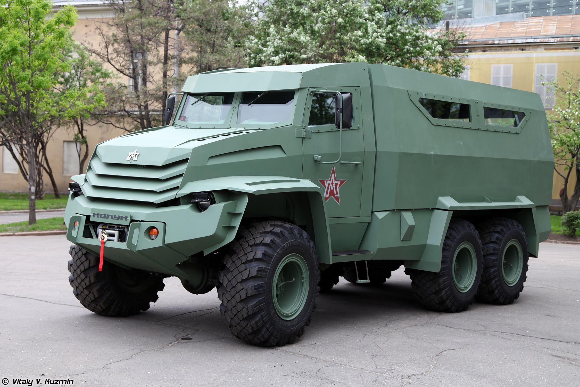 Бронеавтомобиль Колун 6х6