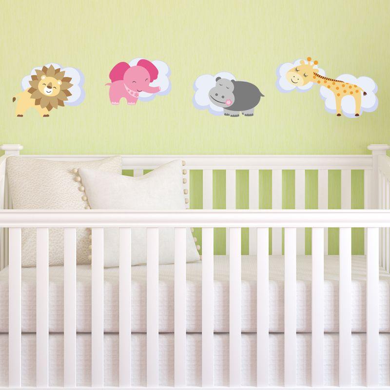 Sticker Animaux endormis | Nursery stickers, Wall decals and Nursery