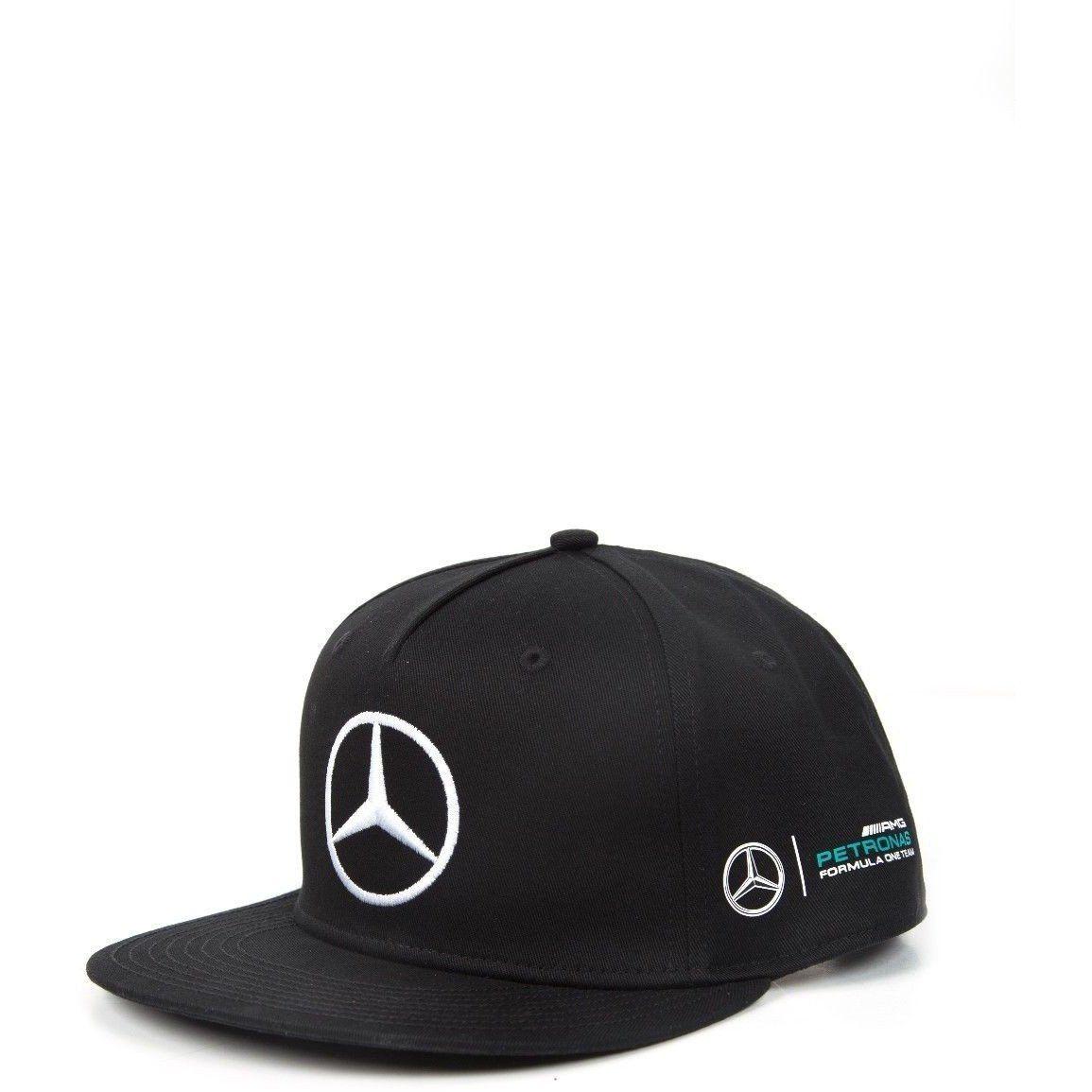 Mercedes Benz Petronas Formula 1 Lewis Hamilton Black Flat