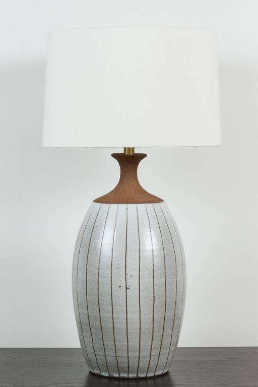 1960s Stoneware Lamp By Brent Bennett Lamp Modern Table Lamp Table Lamp Lighting