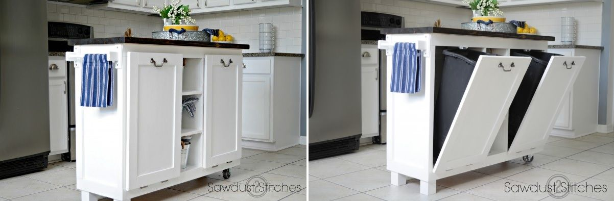 Modern Kitchen Trash Can Ideas For Good