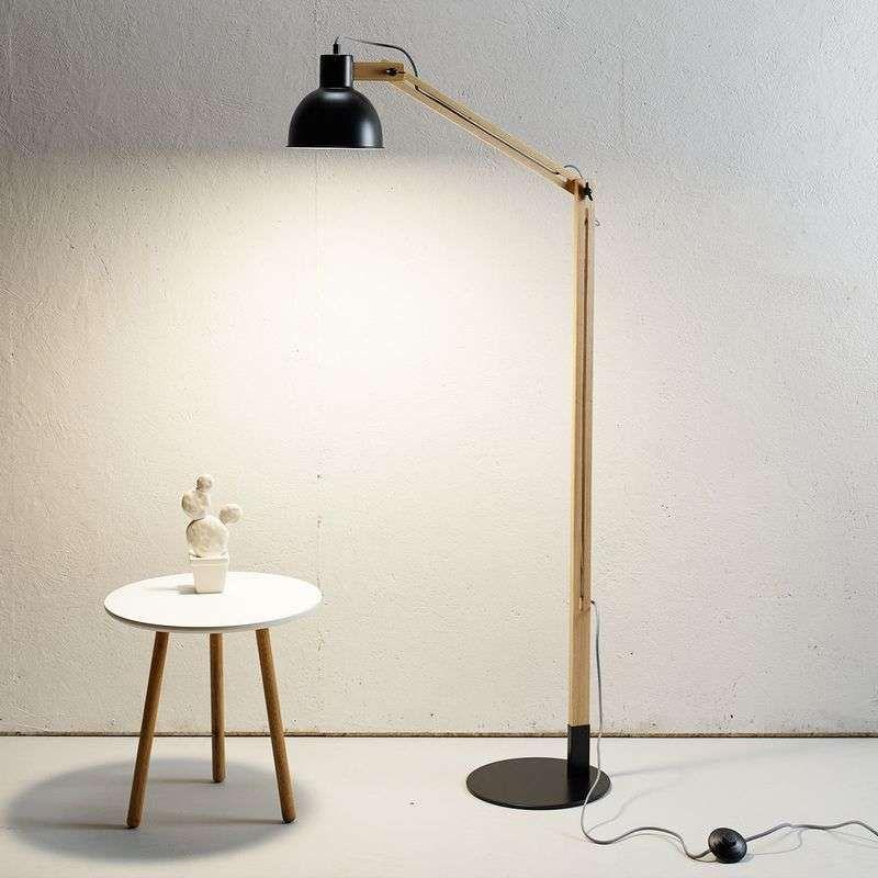 Fonkelnieuw booglamp eettafel ikea   staande vloerlamp brons   design BC-61
