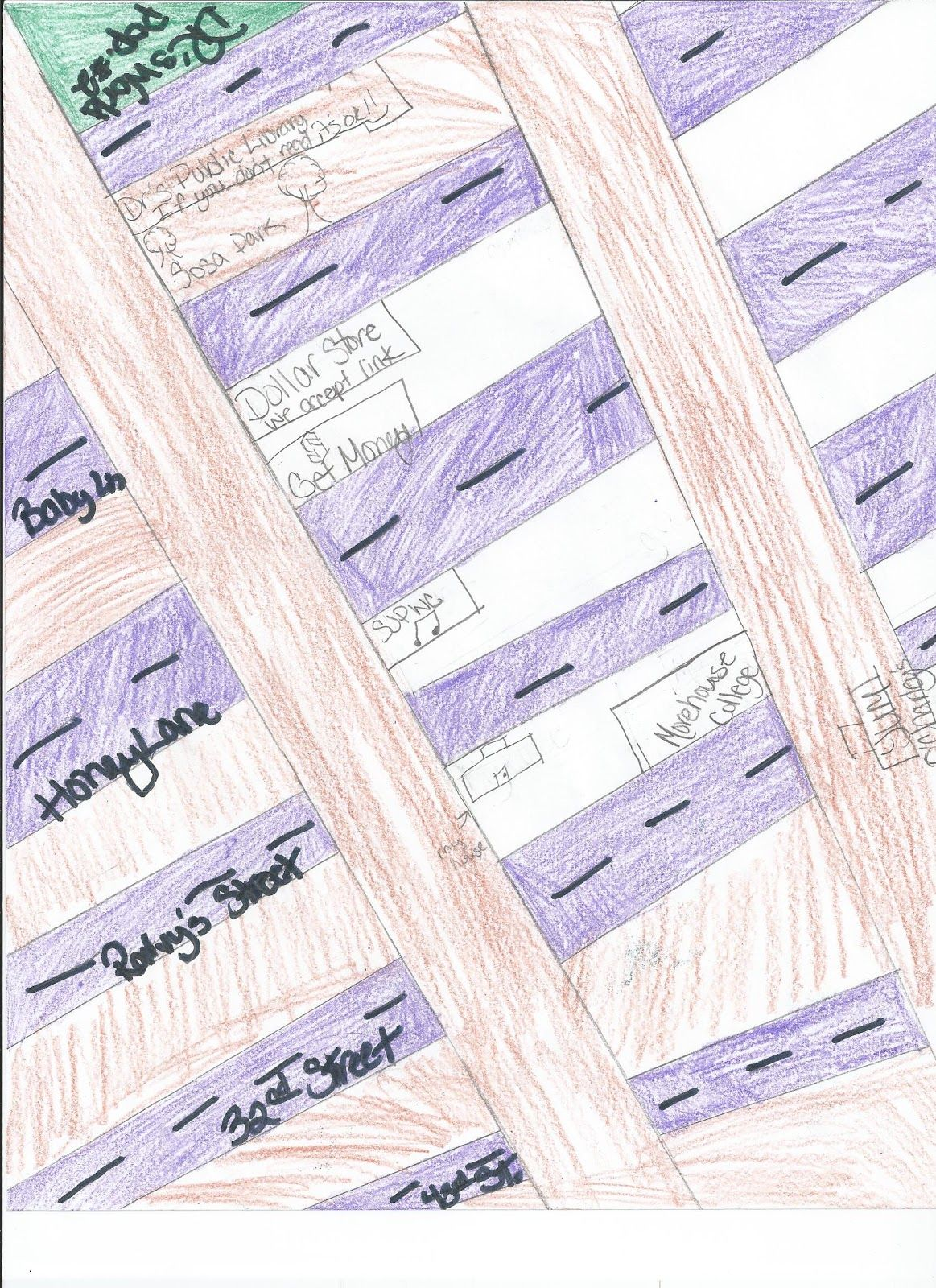 Misscalcul8 City Design Project Parallel Lines And