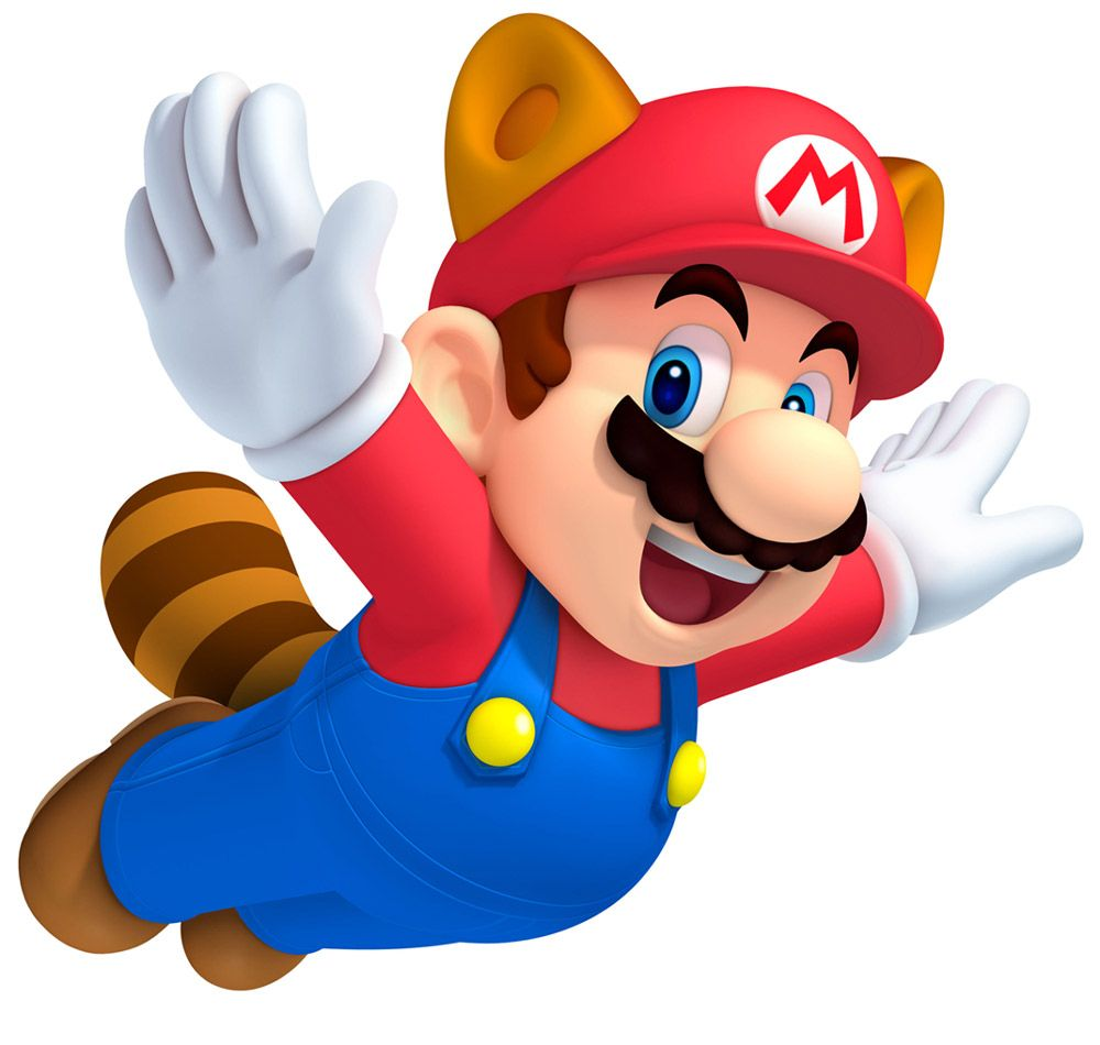 Raccoon Mario Characters Art New Super Mario Bros 2 Raccoon Mario Mario Bros Super Mario