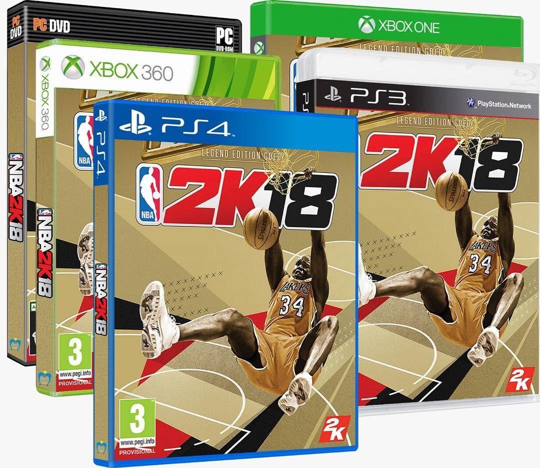 NBA 2K18 NBA 2K18 is a basketball simulation video game