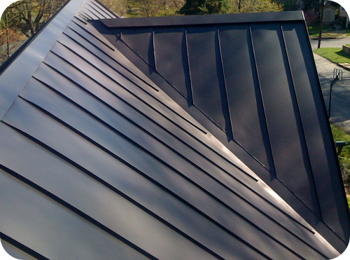Best Dark Grey Standing Seam Metal Roof … Metal Roofs 640 x 480