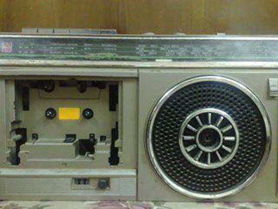 كاسيت وراديو Vintage Memory Childhood Home Appliances