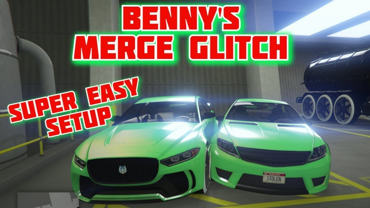 Very Easy Gta 5 Arena Merge Glitch Put Benny S Wheels On Any Car Glitch Youtube Car