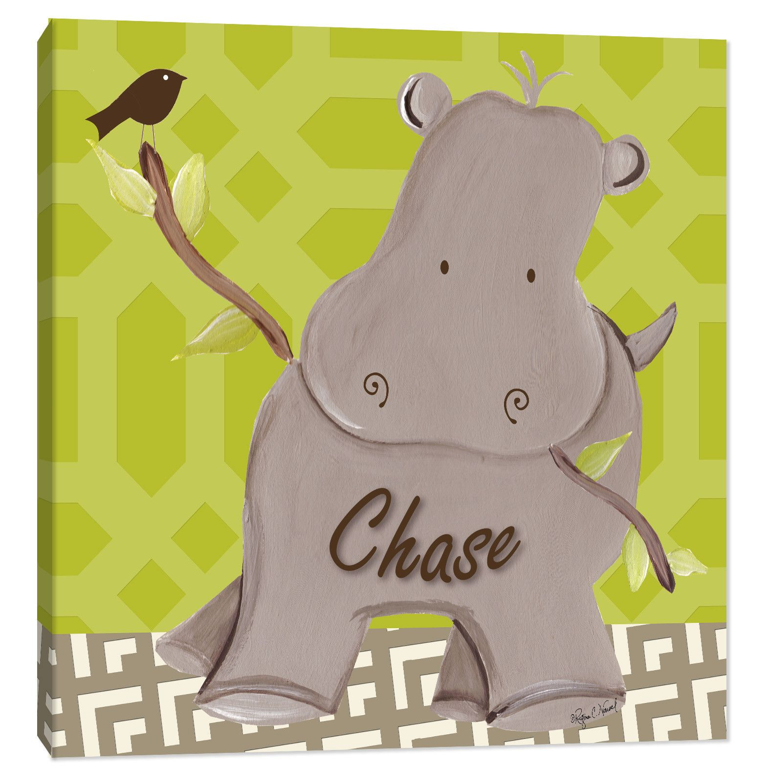 Awesome Hippo Wall Art Photos - The Wall Art Decorations ...