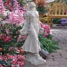 Amazing $183.95   Design Toscano 30.5 In H Flora Divine Patroness Garden Statue    Summer 2015