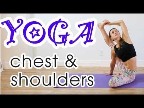 3 50min vinyasa yoga for chest and shoulders  lengthen