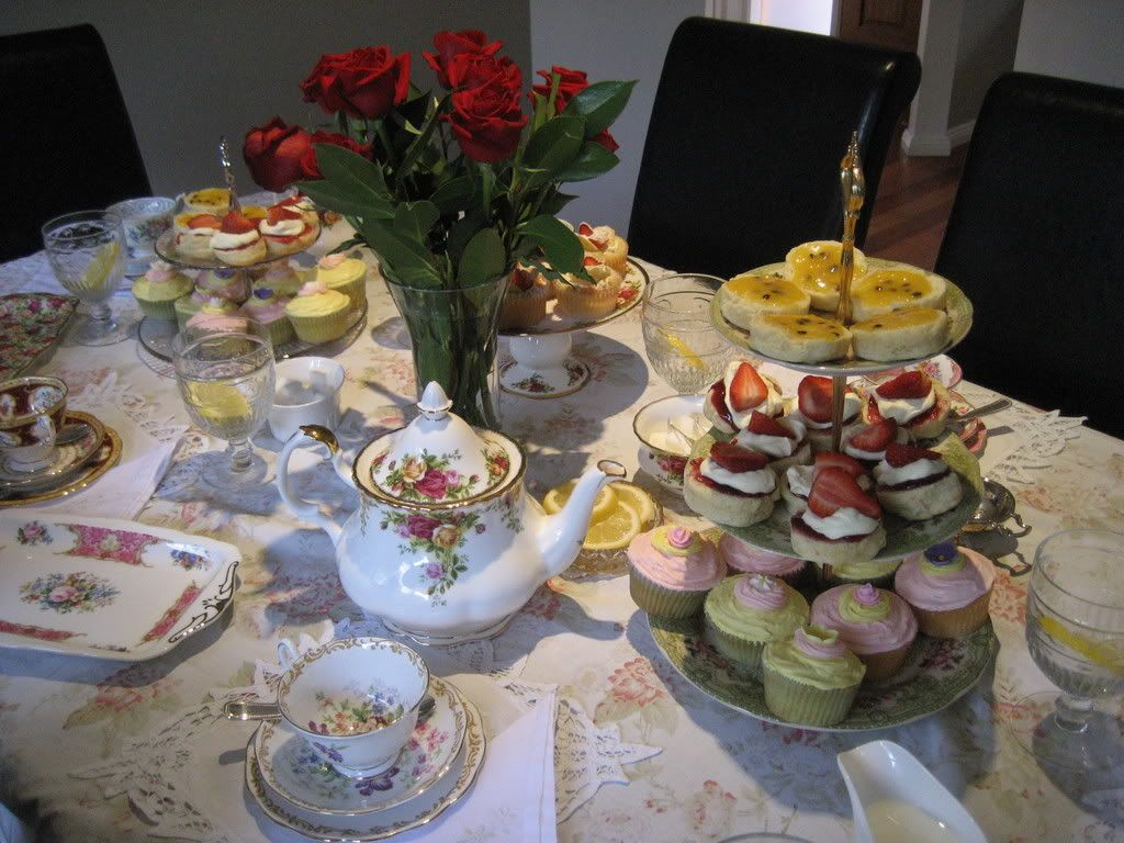 how to set a proper tea table | View topic - Q. How do you