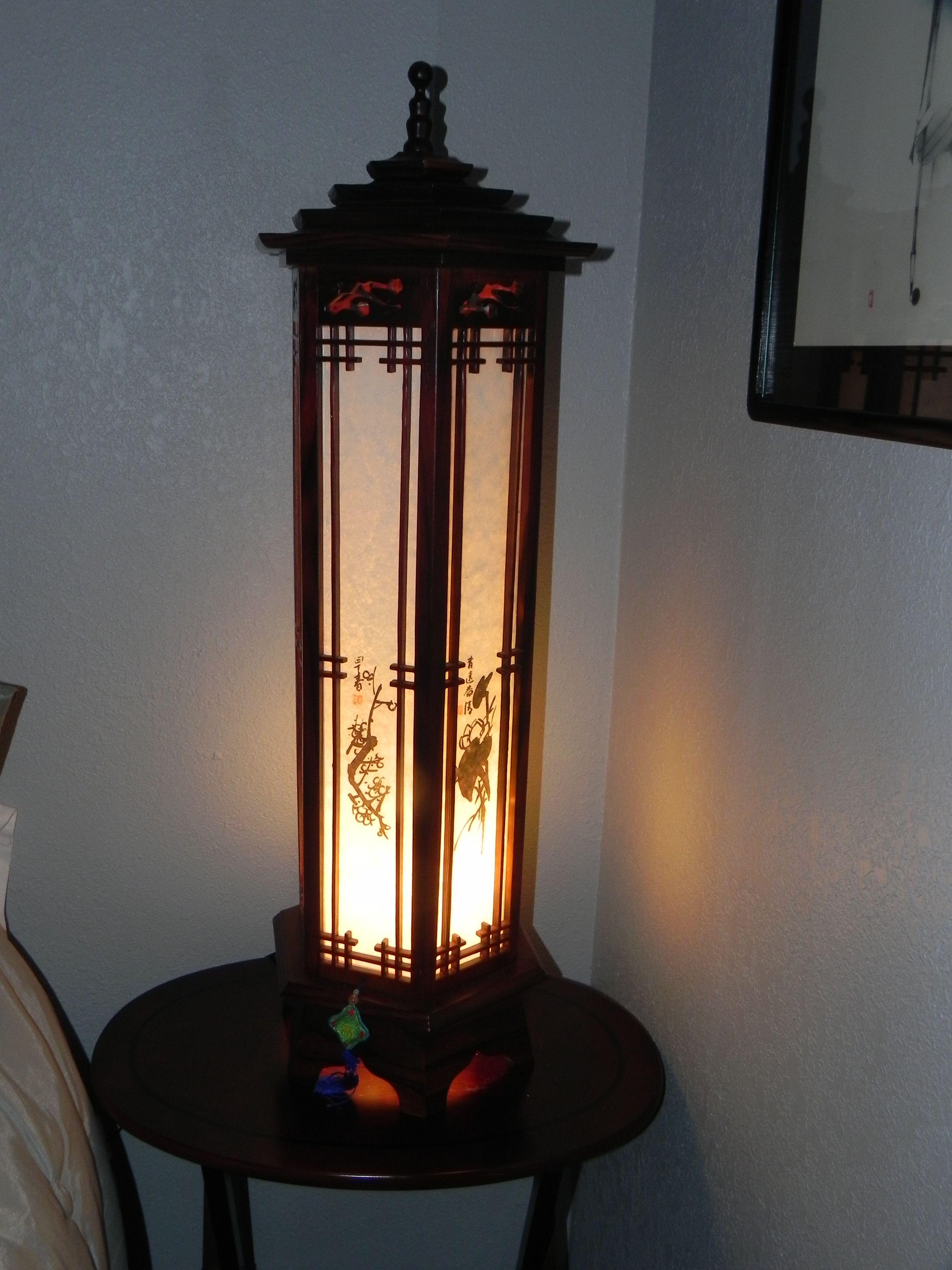 Korean Traditional Lamp Traditional Lamps Artisan Lamps Lamp