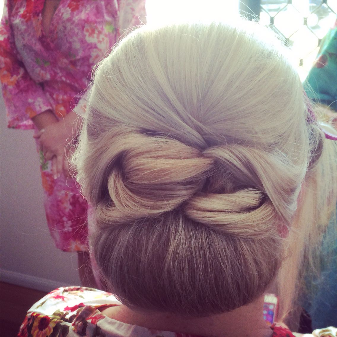 Bridal style, low chignon, detail, height. Hair & makeup
