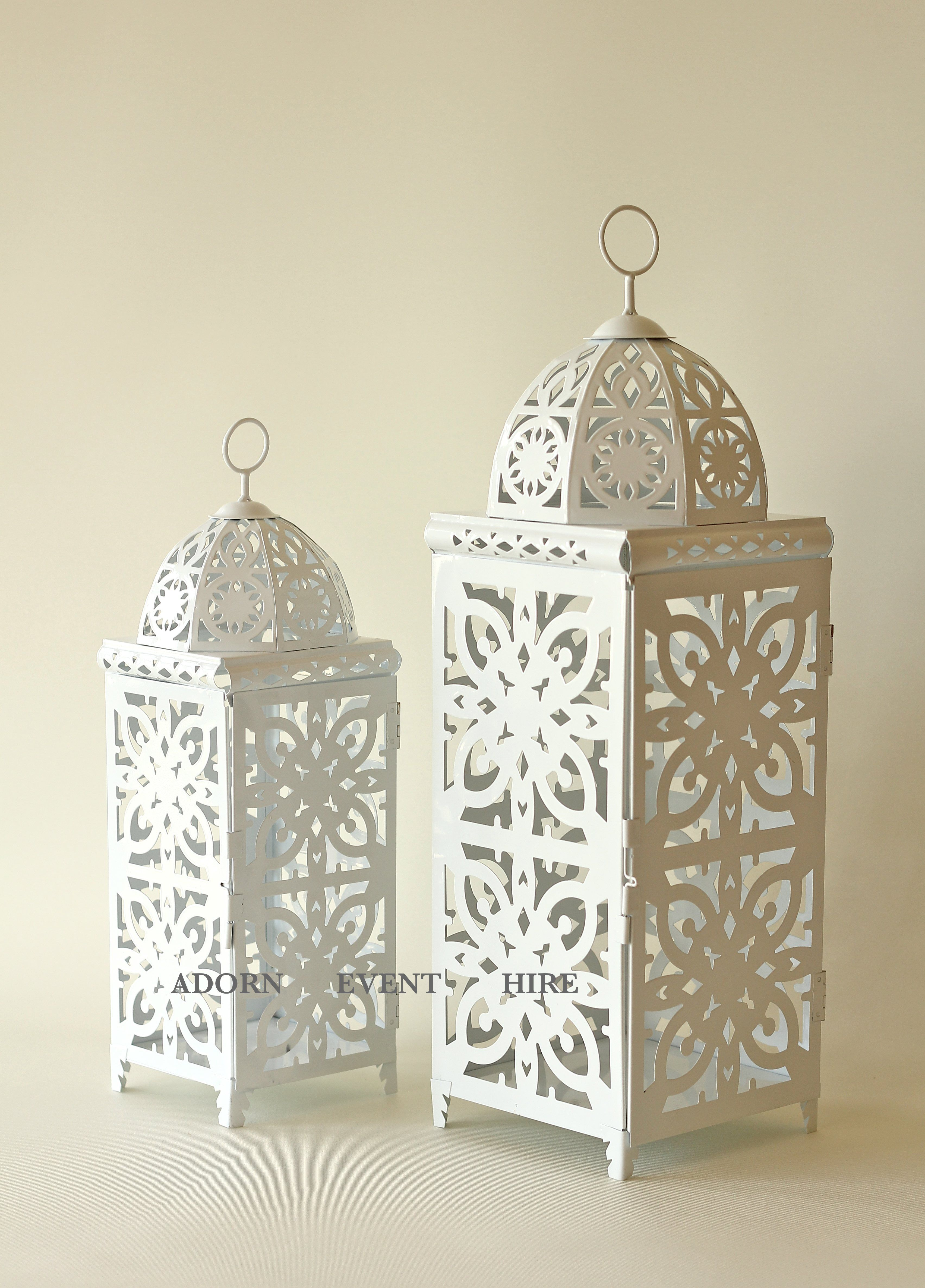 Party decoration ideas moroccan metal lantern - Wonderful Moroccan Lanterns For Home Or Wedding Decoration Ideas White Metal Moroccan Lanterns For Home