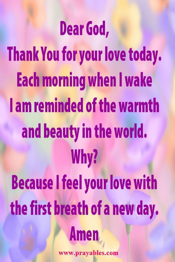prayers for relationships of love