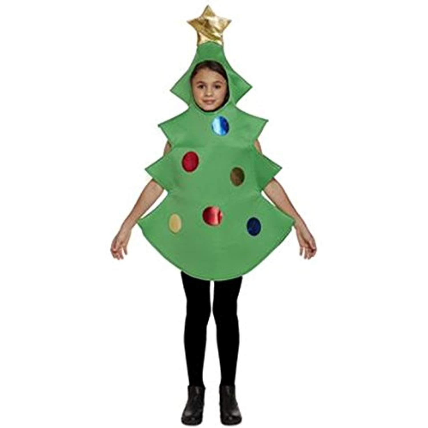 Henbrandt Child Christmas Tree Fancy Dress Costume Age 10 11 Years Visit The Image Link More D Christmas Tree Costume Tree Costume Christmas Tree Fancy Dress