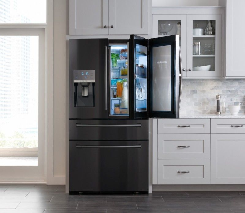 Black Stainless Steel Appliances Google Search Kitchen Pinterest Black Stainless Steel