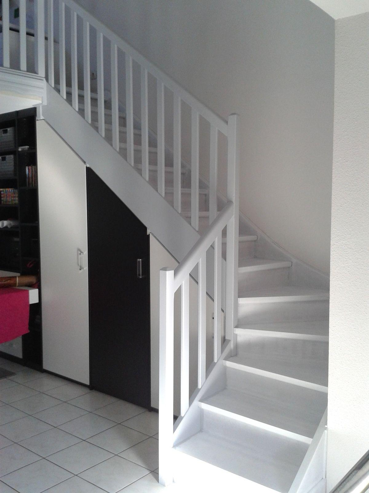 Poncage Escalier En Bois peindre un escalier en bois   escalier bois, repeindre