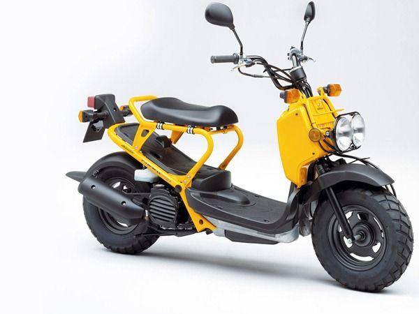 Honda Zoomer Honda Ruckus Honda Scooter Motorcycle
