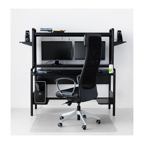 Fredde Arbeitsplatz Schwarz Möbel Die Ich Kaufen Könnte