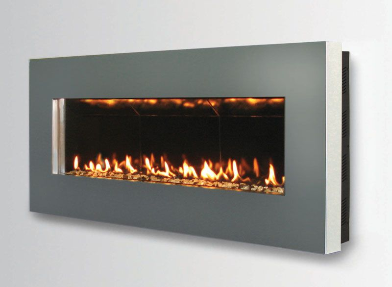 Contemporary Wall Mount Fireplace Slim By Spark Modern Fires Digsdigs Wall Mount Fireplace Fireplace Wall Fireplace Design