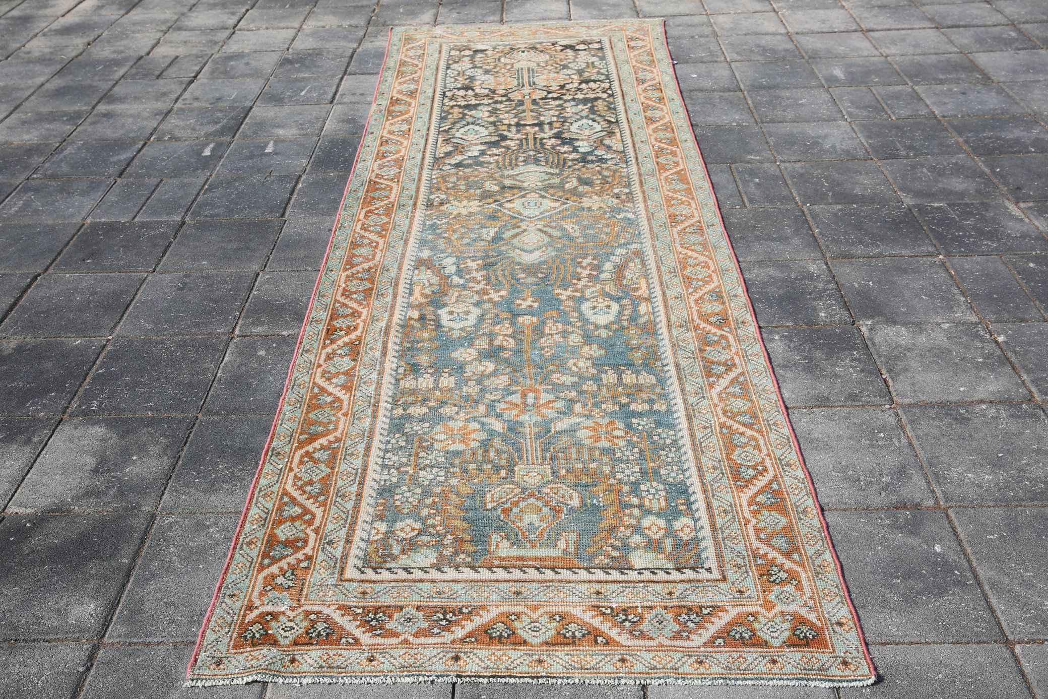 3 5 10 8 Ft 4 11 Turkish Runner Rug Tribal Runner Special Runner Rug Runners Wool Runner Rug Anatolian Runner Rug Antique Runner Sku 3683 In 2020 Rug Runners Wool Runner Rug Antique Runner