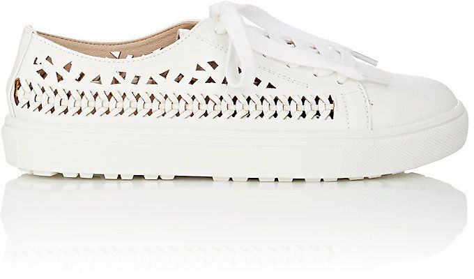 44ae3b56f Sam Edelman SAM EDELMAN WOMEN S RAINA LASER-CUT LEATHER SNEAKERS ...