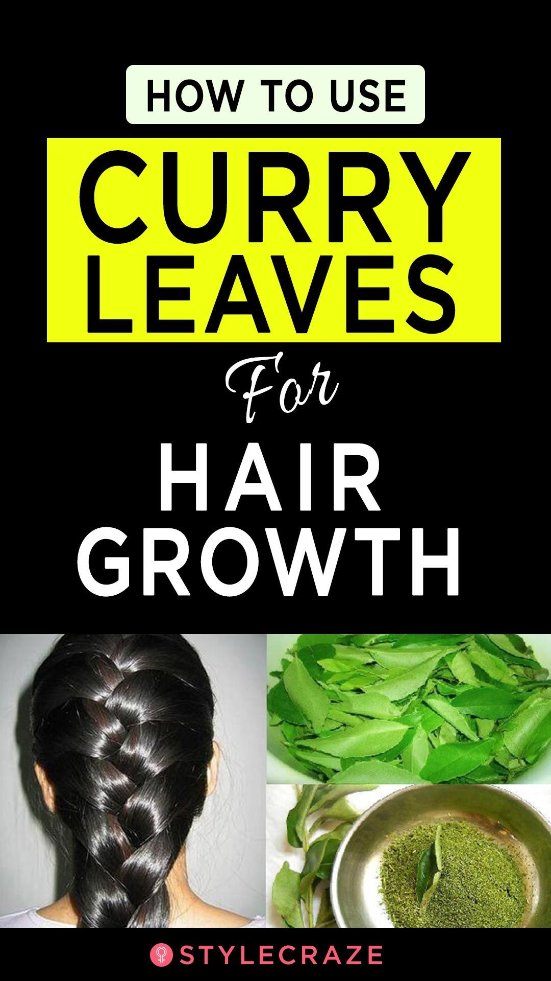 How To Use Curry Leaves For Hair Growth Healthy hair