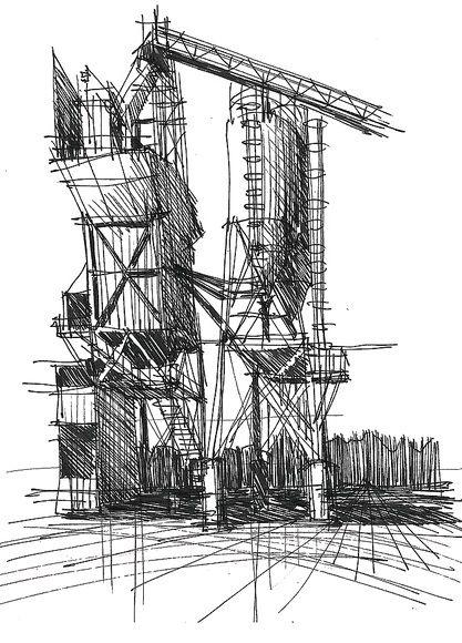 concrete sketch