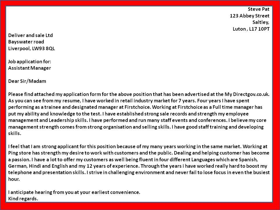 Outstanding Cover Letter Examples Sample resumes cover letter 4 - cover letter for employment