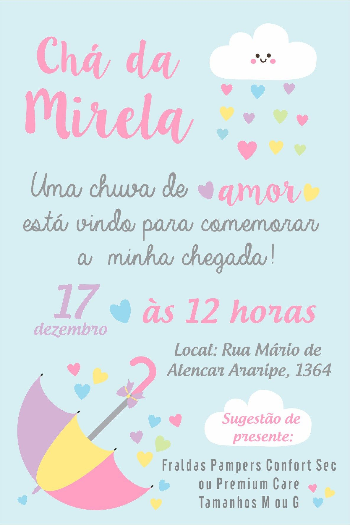 Ideias Festa Nuvem De Amor Festa Chuva De Bencao Festa Nuvens